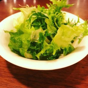 ボノパスタランチのサラダ