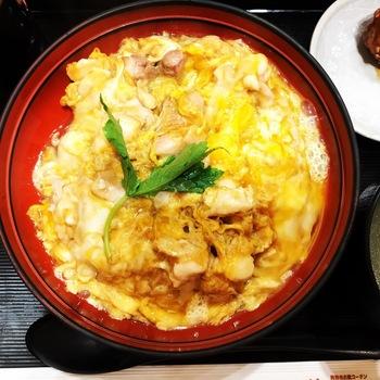 鶏三和ルクア大阪コーチン親子丼1