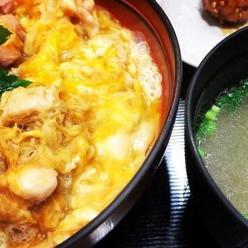 鶏三和ルクア大阪コーチン親子丼2
