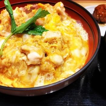 鶏三和ルクア大阪コーチン親子丼3
