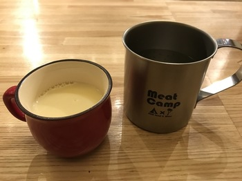 meatcampスープ