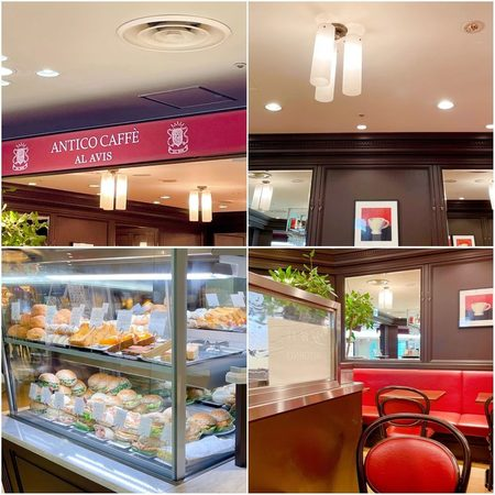 ANTICO CAFFÈ AL AVIS 阪急三番街店