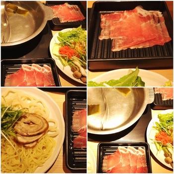 しゃぶ菜豚しゃぶ定食ランチ1