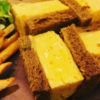 厚焼き玉子サンドイッチ
