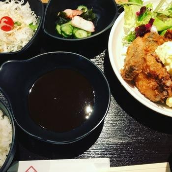 ぱちぱち魚ミックスフライ膳1