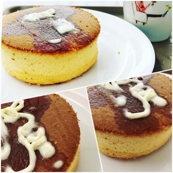 hollyscafe厚みあるホットケーキ