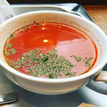 ニコアンドコーヒー本日のスープ