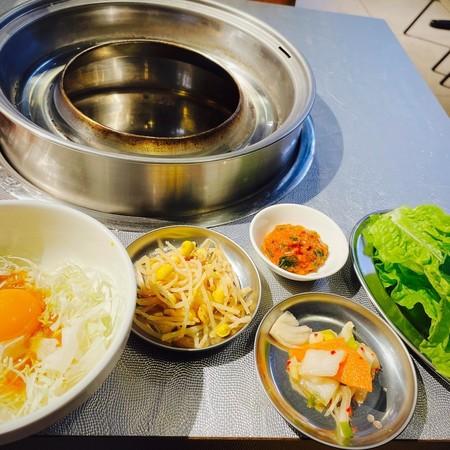 韓国焼肉‰(パーミル)食堂お通し