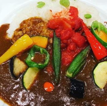 サンマルコ三番街店夏野菜カレー2