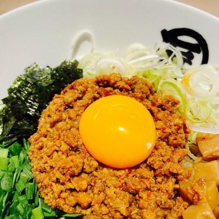 麺やマルショウ EST店 台湾まぜそばと卵
