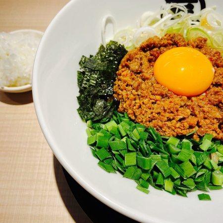 麺やマルショウ EST店 台湾まぜそばとミニ飯
